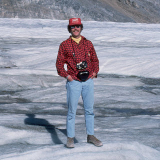 On the Athabaska Glacier, 1975
